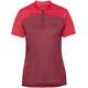 VAUDE Tremalzo IV Koszulka kolarska, krótki rękaw Kobiety czerwony